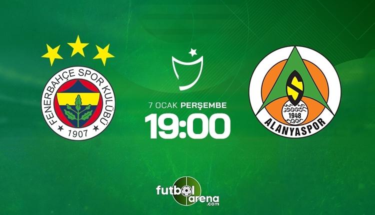 Fenerbahçe-Alanyaspor canlı izle, Fenerbahçe-Alanyaspor şifresiz izle, (Fenerbahçe-Alanyaspor beIN Sports canlı ve şifresiz maç İZLE)