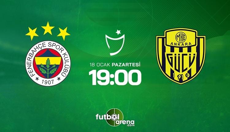 Fenerbahçe-Ankaragücü canlı izle, Fenerbahçe-Ankaragücü şifresiz İZLE (Fenerbahçe-Ankaragücü beIN Sports canlı ve şifresiz İZLE)
