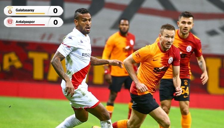 Galatasaray ile Antalyaspor puanları paylaştı (İZLE)