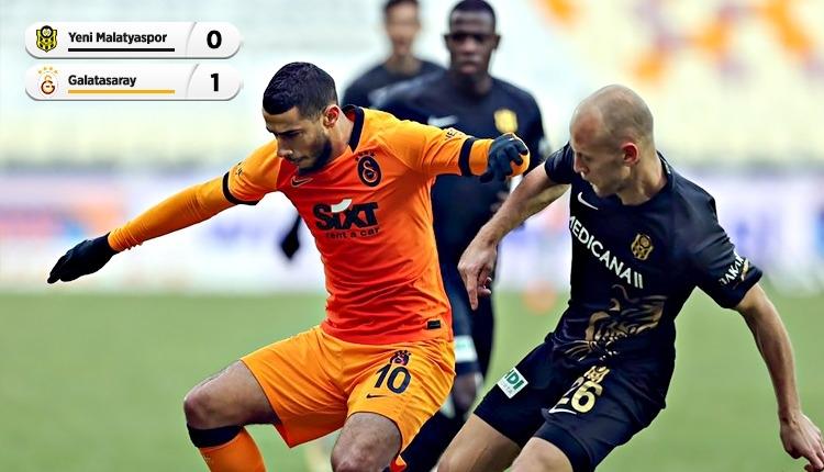 Galatasaray, Malatya'da tek golle kazandı (İZLE)