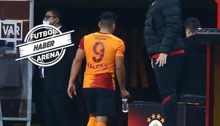 Galatasaray'da Falcao sakatlandı! İlk açıklama