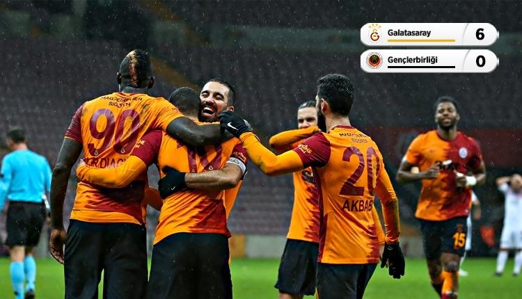 Galatasaray'dan Gençlerbirliği'ne 6 gol! Belhanda hat-trick (İZLE)