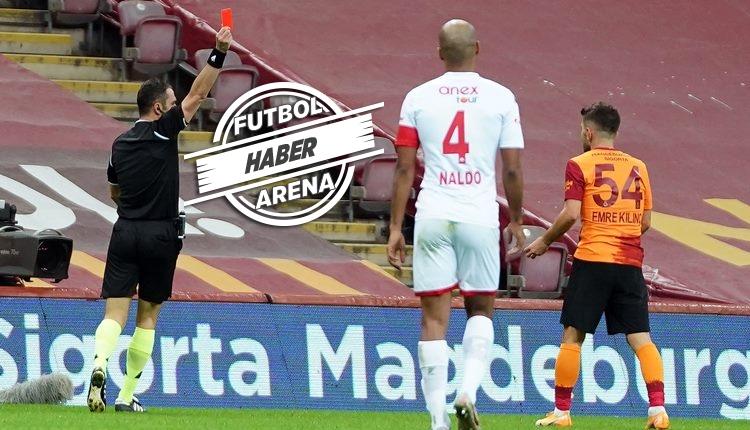 Galatasaraylı Emre Kılınç'a 2 maç ceza! Mahmut Recevik'e 45 gün