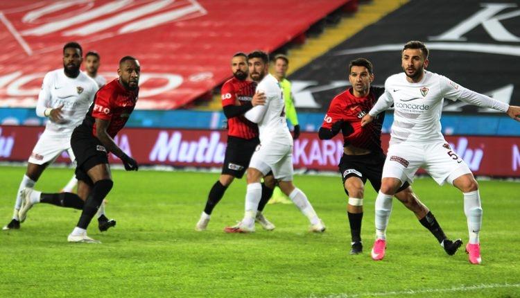 Gaziantep FK 1-1 Hatayspor maç özeti ve golleri (İZLE)