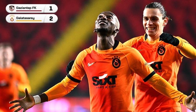 Gaziantep FK 1-2 Galatasaray maç özeti ve golleri (İZLE)