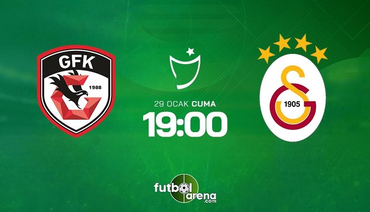 Gaziantep FK - Galatasaray maçı canlı yayın