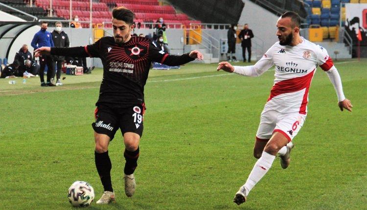 Gençlerbirliği 0-1 Antalyaspor maç özeti ve golü (İZLE)