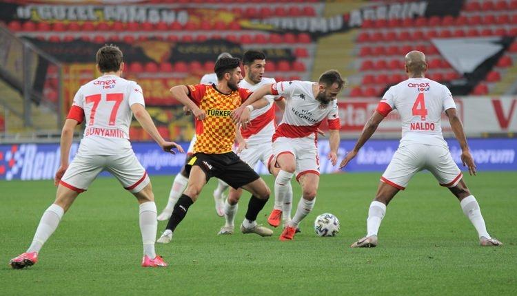Göztepe 0-1 Antalyaspor maç özeti ve golleri (İZLE)