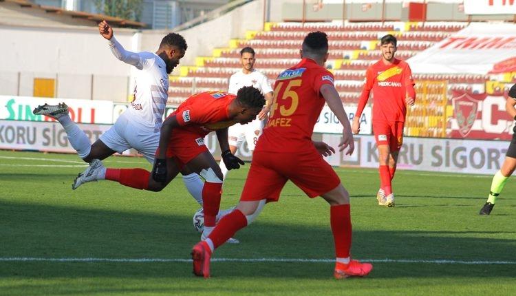 Hatayspor 1-2 Yeni Malatyaspor maç özeti ve golleri (İZLE)