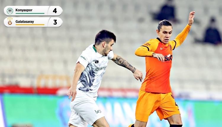 Konya'da 7 gollü maç! Galatasaray kaybetti (İZLE)