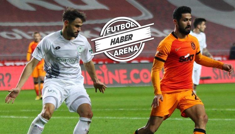 Konyaspor 4-3 Galatasaray maç özeti ve golleri (İZLE)