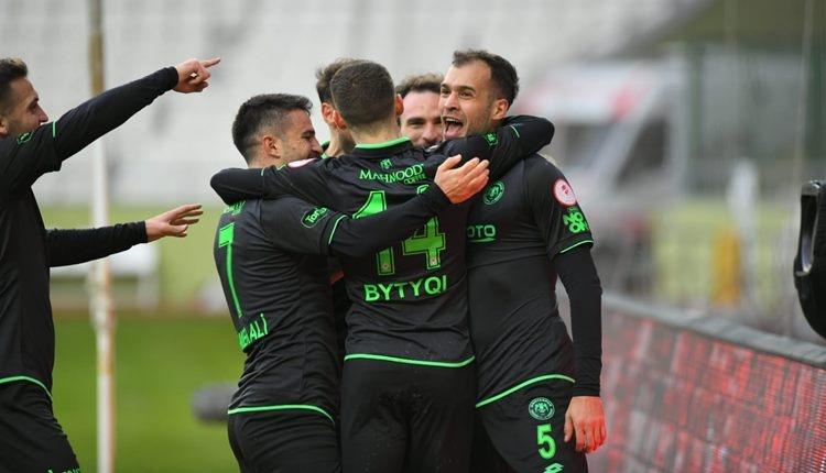Konyaspor çeyrek finalde! Konyaspor 2-1 Gaziantep FK maç özeti (İZLE)