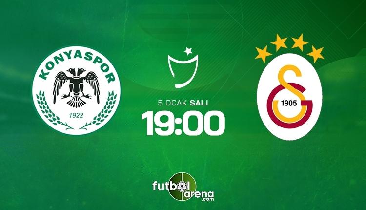 Konyaspor-Galatasaray canlı maç izle, Konyaspor-Galatasaray şifresiz maç İZLE (Konyaspor-Galatasaray beIN Sports canlı ve şifresiz maç İZLE)