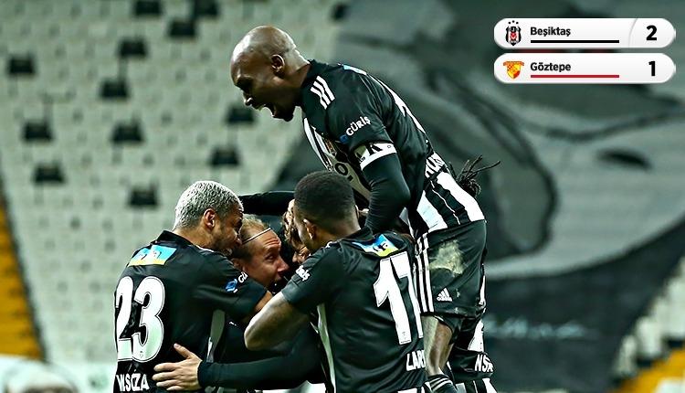 Lider Beşiktaş, Göztepe karşısında geri döndü (İZLE)