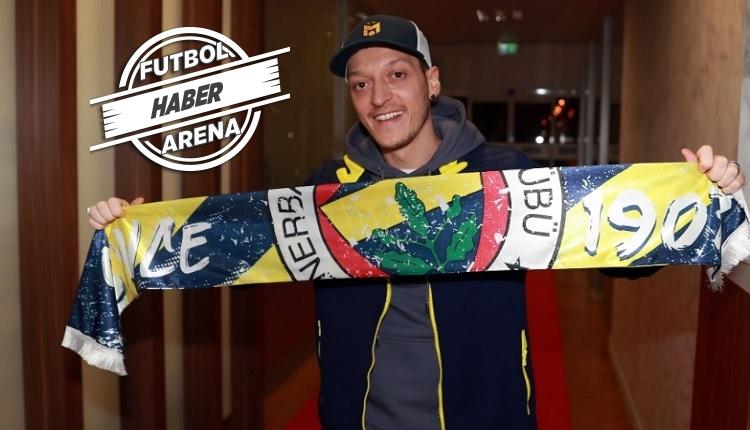 Mesut Özil, Fenerbahçe için İstanbul'a geldi: 'Rüyam gerçek oldu'