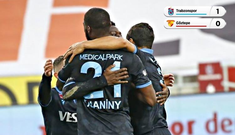 Trabzonspor 1-0 Göztepe maç özeti ve golü (İZLE)