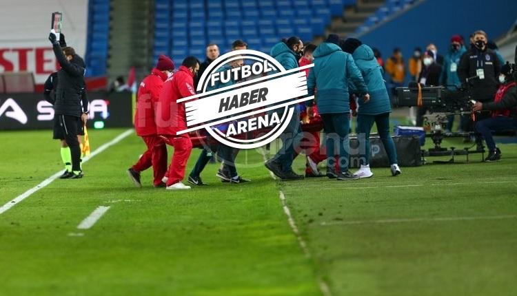 Trabzonspor'da Abdülkadir Ömür'ün ayağı kırıldı