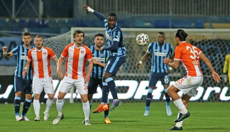 Adanaspor 2-2 Adana Demirspor maç özeti ve golleri (İZLE)