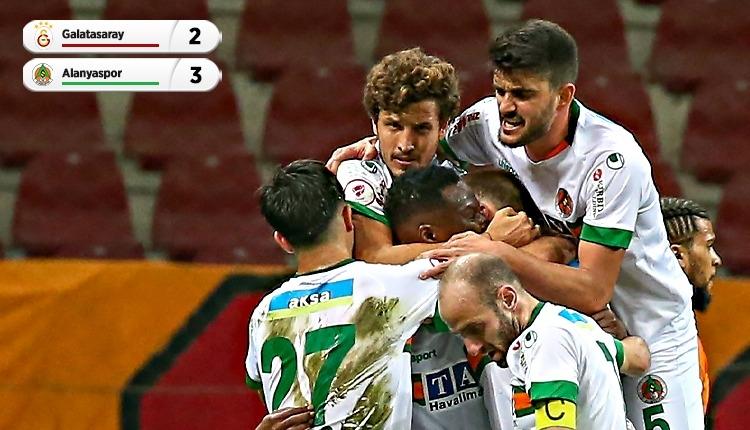 Alanya yarı finalde! Galatasaray 2-3 Alanyaspor maç özeti (İZLE)