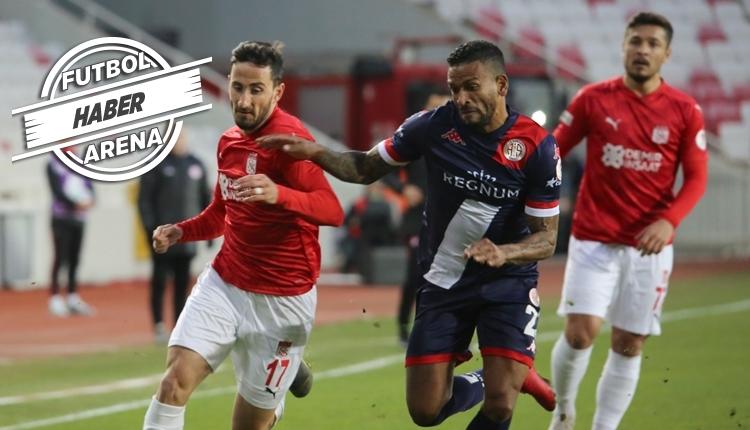 Antalya yarı finalde! Sivasspor 0-1 Antalyaspor maç özeti (İZLE)