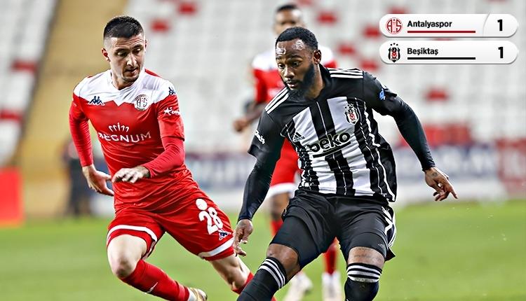 Antalyaspor 1-1 Beşiktaş maç özeti ve golleri (İZLE)