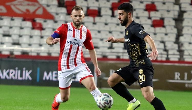 Antalyaspor 1-1 Yeni Malatyaspor maç özeti ve golleri (İZLE)