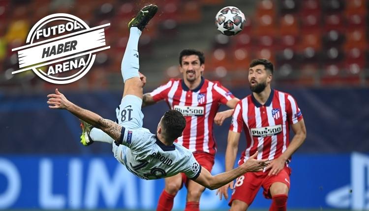 Atletico Madrid 0-1 Chelsea maç özeti ve golü (İZLE)