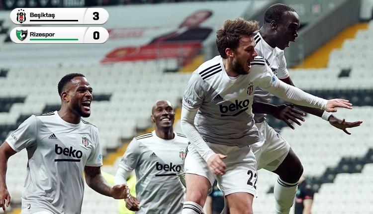 Beşiktaş 3-0 Denizlispor maç özeti ve golleri (İZLE)