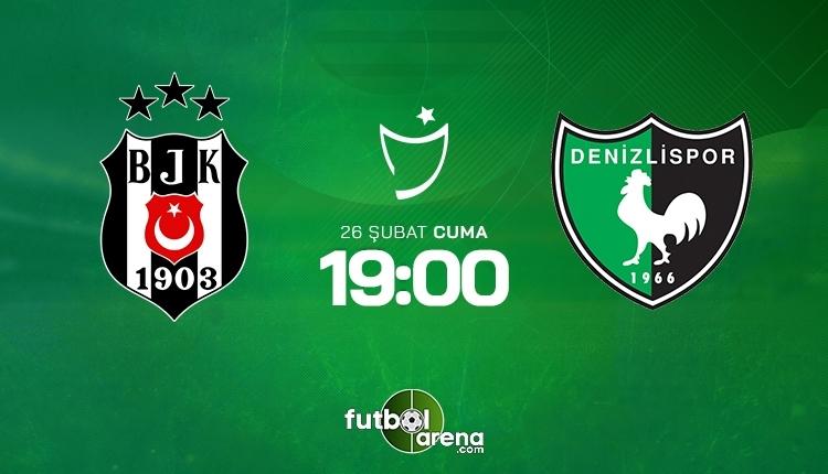 Beşiktaş-Denizlispor canlı izle, Beşiktaş-Denizlispor şifresiz İZLE (Beşiktaş-Denizlispor beIN Sports canlı ve şifresiz İZLE)