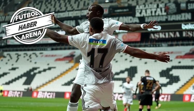 Beşiktaş'ın silahşörleri Larin ve Aboubakar'dan 26 gol