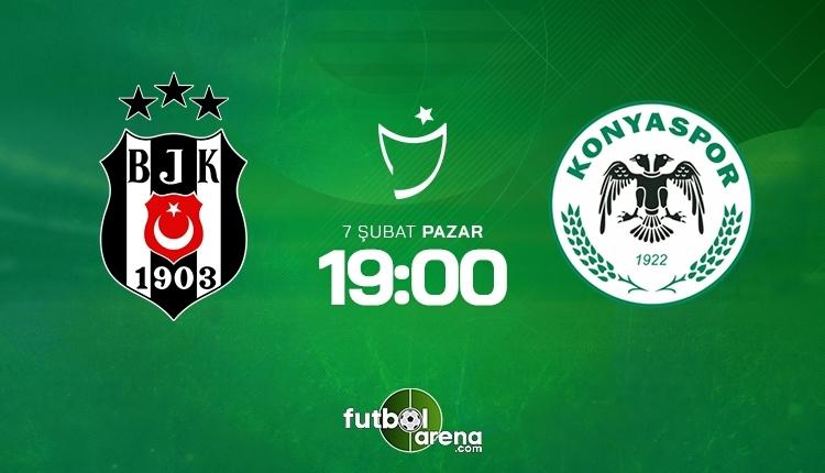 Beşiktaş-Konyaspor canlı izle, Beşiktaş-Konyaspor şifresiz İZLE (Beşiktaş-Konyaspor beIN Sports canlı ve şifresiz maç İZLE)