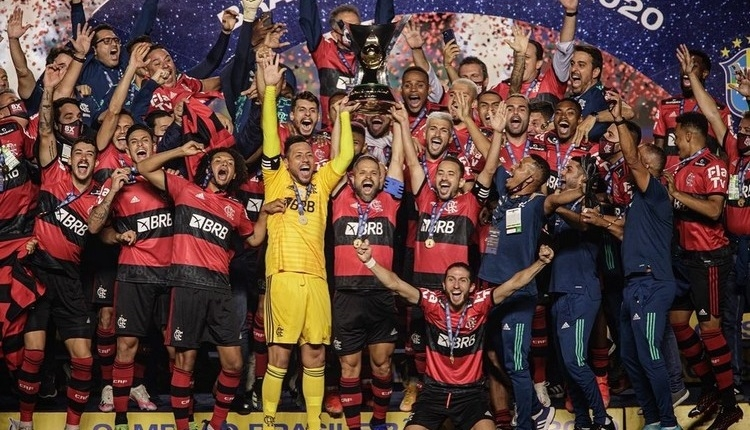 Brezilya Ligi'nde şampiyon Flamengo