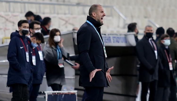 Bursaspor teknik direktörü Mustafa Er: 'Herkesten özür dileriz'