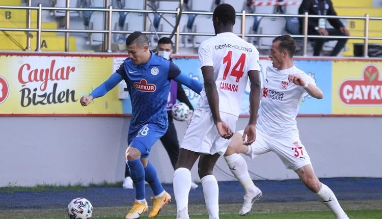 Çaykur Rizespor 0-0 Sivasspor maç özeti (İZLE)