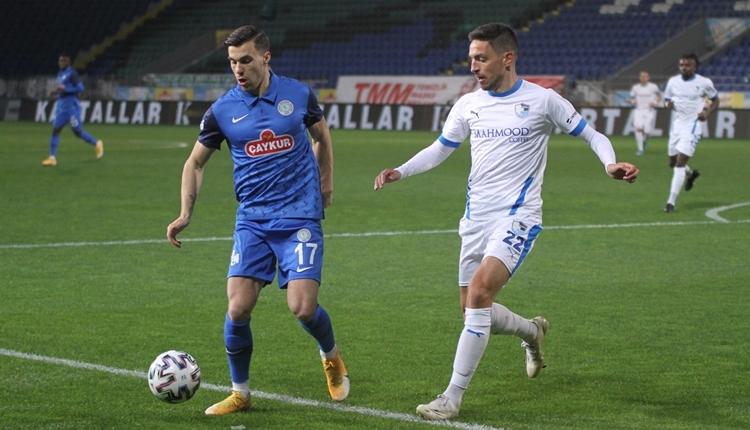 Çaykur Rizespor 0-2 BB Erzurumspor maç özeti ve golleri (İZLE)