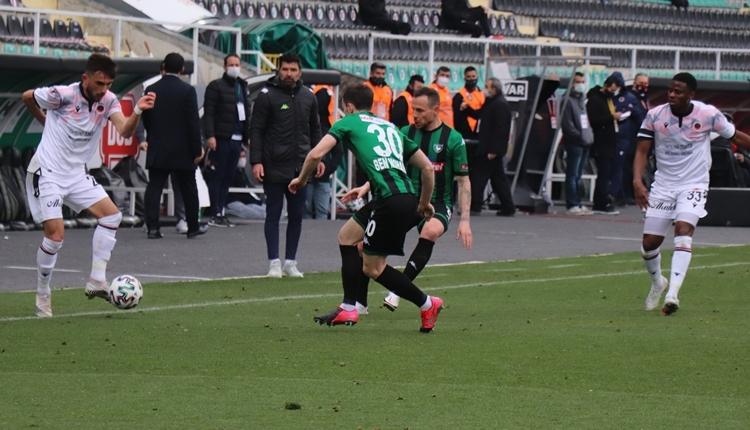 Denizlispor 1-0 Gençlerbirliği maç özeti ve golleri (İZLE)