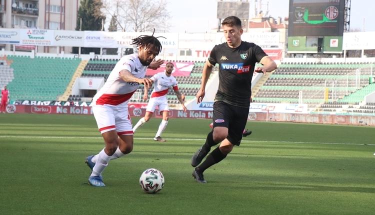 Denizlispor 1-1 Antalyaspor maç özeti ve golleri (İZLE)