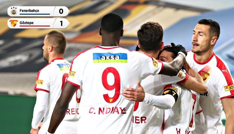Fenerbahçe 0-1 Göztepe maç özeti ve golü (İZLE)