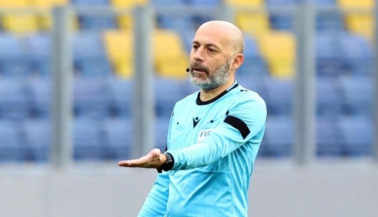 Fenerbahçe - Galatasaray derbisinde hakem Cüneyt Çakır