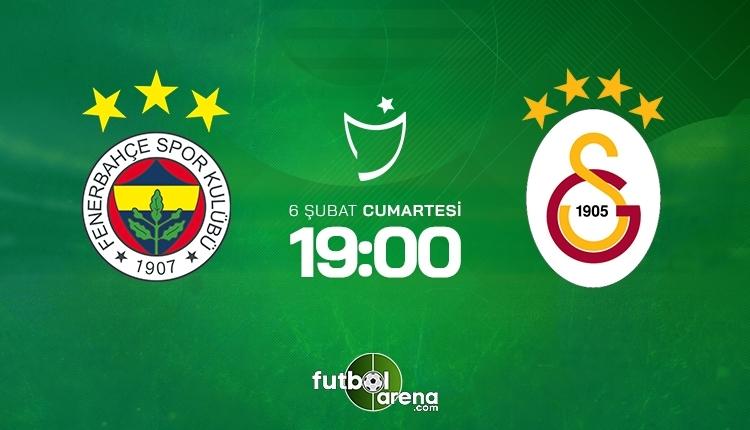 Fenerbahçe-Galatasaray canlı izle, Fenerbahçe-Galatasaray şifresiz İZLE (Fenerbahçe-Galatasaray beIN Sports canlı ve şifresiz maç İZLE)