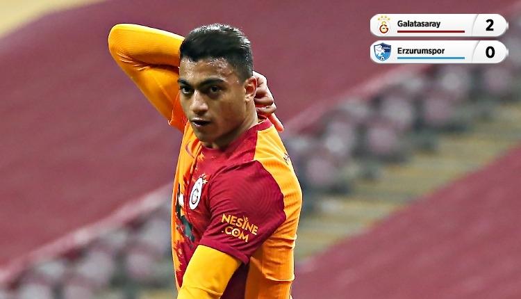 Galatasaray 2-0 BB Erzurumspor maç özeti ve golleri (İZLE)