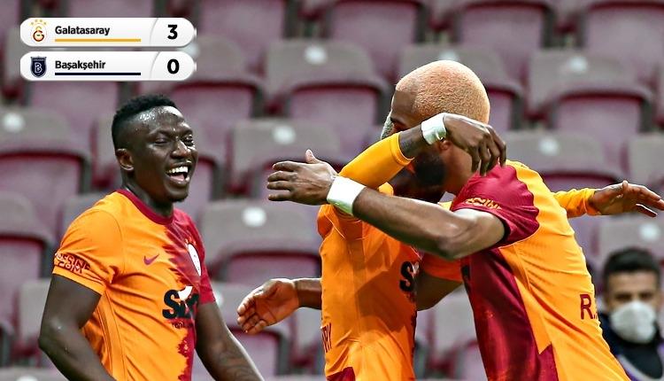 Galatasaray, Aykut Kocaman'ın ilk maçında Başakşehir'i yendi