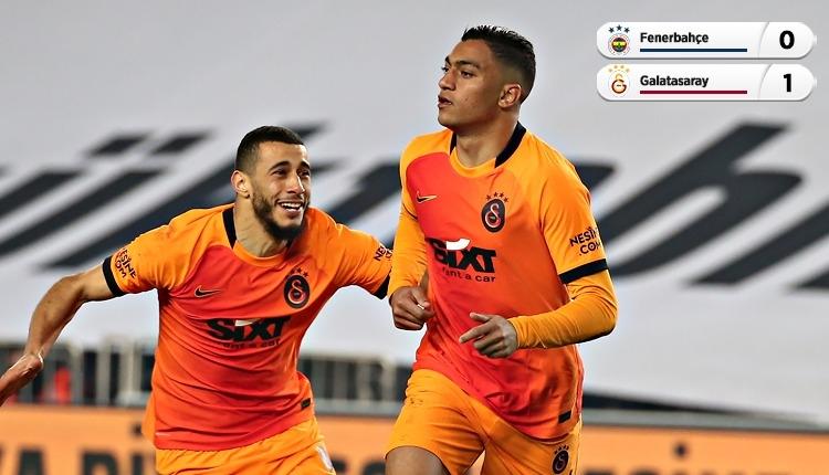 Galatasaray, Kadıköy'de Fenerbahçe'yi tek golle geçti (İZLE)