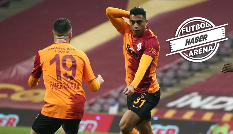 Galatasaray'dan müthiş seri! Mostafa Mohamed ve Falcao sevinci