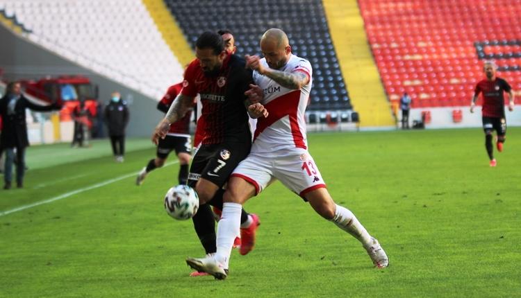 Gaziantep FK 0-0 Antalyaspor maç özeti (İZLE)