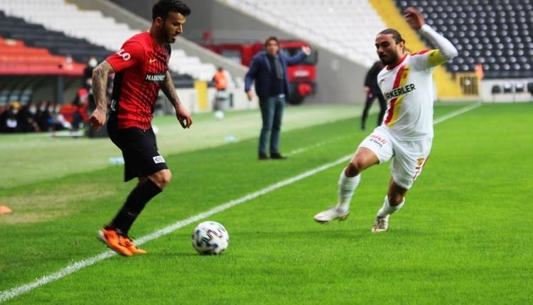 Gaziantep FK 2-0 Göztepe maç özeti ve golleri
