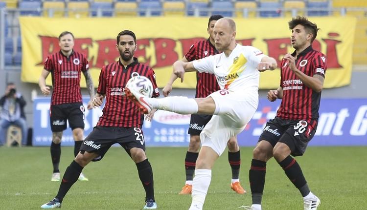 Gençlerbirliği 1-1 Yeni Malatyaspor maç özeti ve golleri (İZLE)