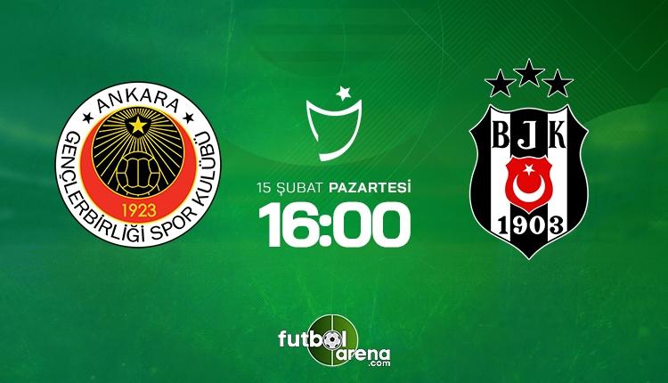 Gençlerbirliği - Beşiktaş canlı şifresiz İZLE, Gençlerbirliği - Beşiktaş beIN Sports şifresiz (Gençlerbirliği - Beşiktaş şifresiz yayın)