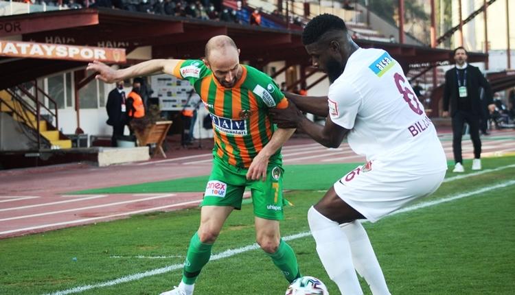 Hatayspor 0-0 Alanyaspor maç özeti (İZLE)