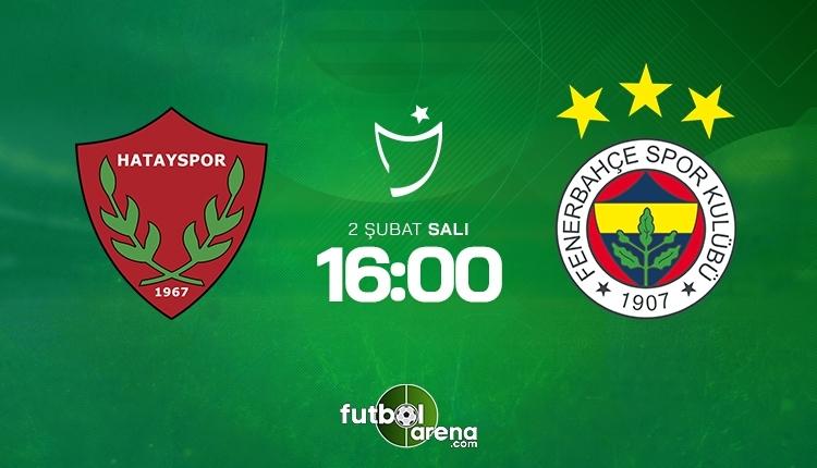 Hatayspor - Fenerbahçe canlı şifresiz İZLE, Hatayspor - Fenerbahçe beIN Sports şifresiz (Hatayspor - Fenerbahçe şifresiz yayın)